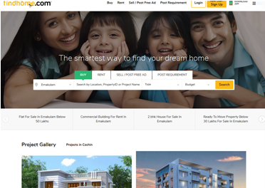 real estate web portal software